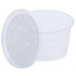 16oz (500ml) Poly Fabric Tub + Lid